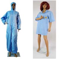 ESD Labcoats, PoloShirts  and ESD Socks, Gloves, Finger Cotes, Shoes and Shoe Covers, Wipes