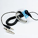 Metal Expansion Plastic Encapsulated Wrist Strap