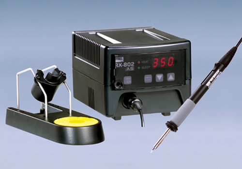 RX-802AS Lead-free Applicable TEMPERATURE CONTROLLED SOLDERING STATION