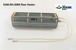 Rear Heater for X-Reflow306 ovens specified for input voltage 208V AC