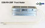 Front Heater for X-Reflow306 ovens specified for input voltage 208V AC