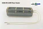 Rear Heater for X-Reflow306 ovens specified for input voltage 220-230V AC