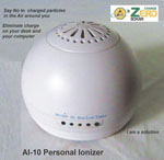 Personal Ionizer   Excellent occasion to try. Eliminates the