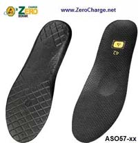 Antistatic, ergonomic (anatomic) PE insole. Provides extra amortization which helps heavier individuals.