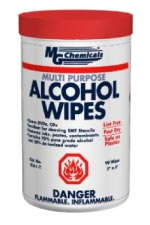 MULTI PURPOSE ALCOHOL WIPES IN POP UP TUB, 75 wipes