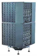 Rototower base, Houses up to 8 Cabinets (any combination of AC26C i AU45C), A161-RT is priced without the cabinets.For one level of cabinets min 4 pcs have to be ordered.