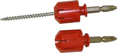 Screw Navigators for Power Tools (RED) for Pan&Flat Head's