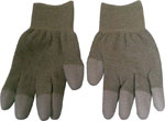 Conductive (Copper Fiber) Finger Tip P/U coated gloves. Super Duty. Always ESD, soft and comfortable.
