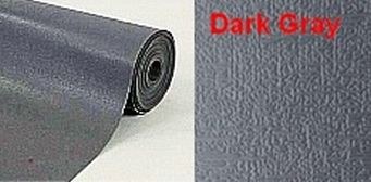 Static Dissipative, dark gray, two layer rubber floor mat – Premium.