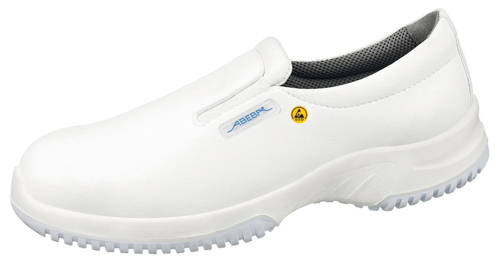 ESD Shoes, Microfibre, White