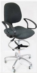 ESD Chairs, dark grey