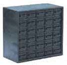 Conductive storage cabinet, 30 drawers