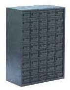 Conductive storage cabinet, 45 drawers