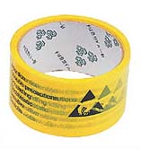 ESD Attention vinyl marking tape (Width: 50 mm, Length: 66 m)