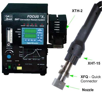 "Focus ""X"" Programmable SMT Rework/Repair Unit"