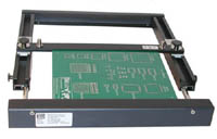 "XU-1 Basic Retractable BOARD HOLDER for boards up to 12"" wide."