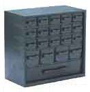 Conductive storage cabinet, 20 drawers