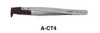 Soft Replaceable Conductive, Angled Tips (10e6<) Tweezers